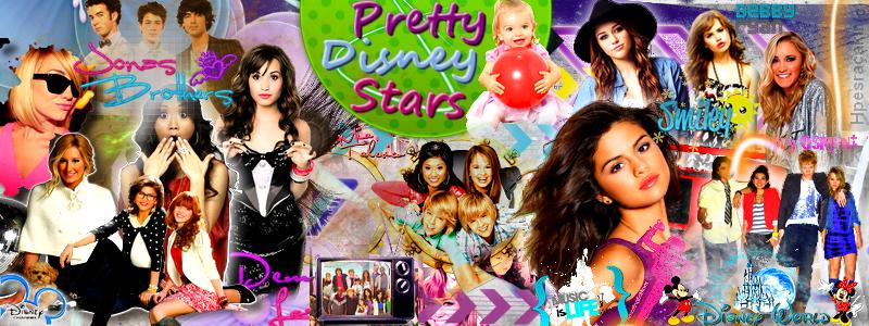Pretty Disney Stars