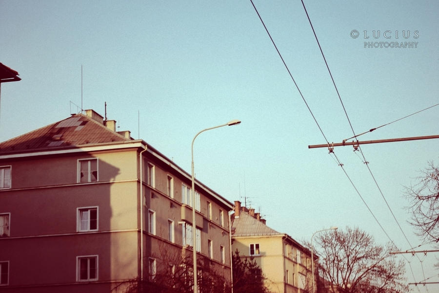 Somewhere in a czech town by LuciusThePope