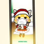 Retsuko Christmas Selfie