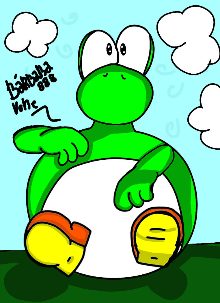 Yoshi Kawaii Belly By Barbara888 On Deviantart