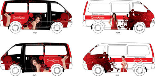 Slimming Sanctuary Van Design by sputz75