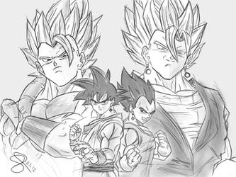 Dragon Ball Forever by Paky88