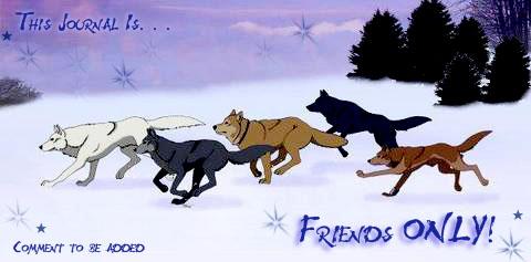 Wolf's Rain Friends Only by FallingRain25