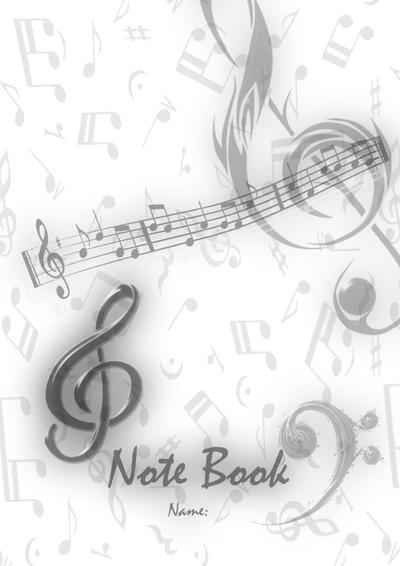 Book Cover Architecture Notes : Music note book cover by sj hael on deviantart