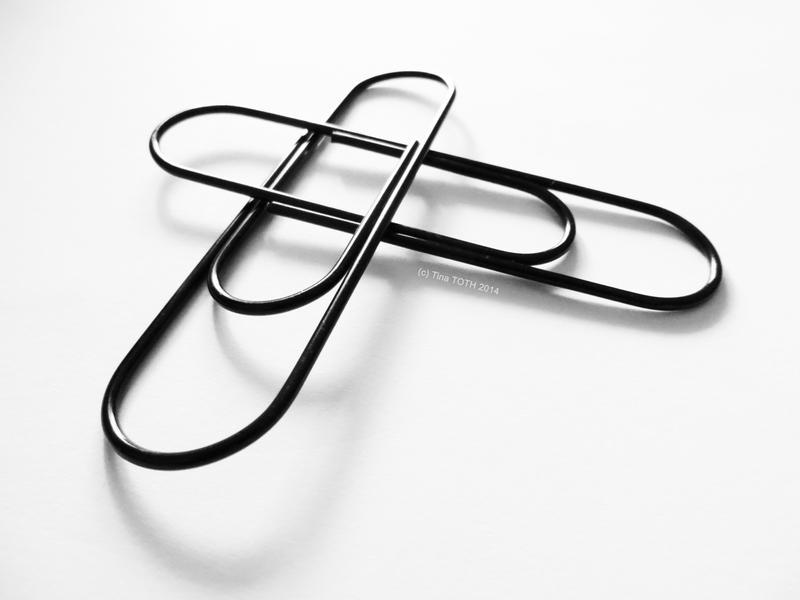 Paperclips - Still Life in b/w by Engelsblut24