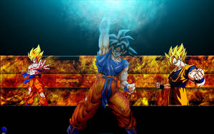 Goku Wallpaper by MarvelousMark