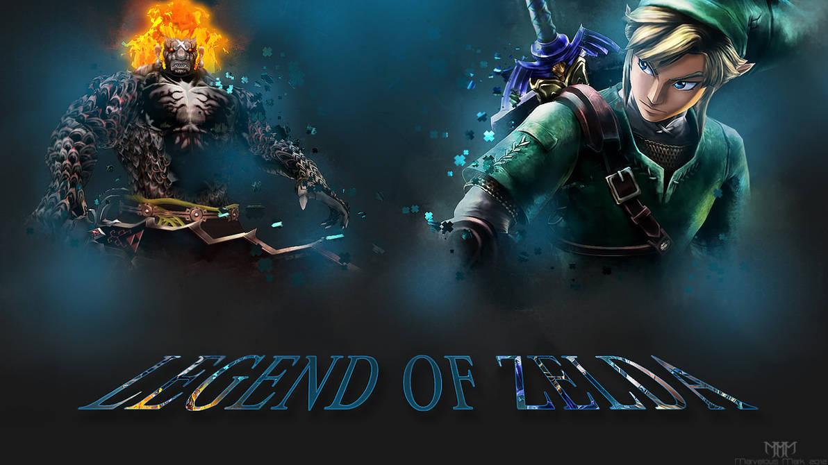 Legend Of Zelda Skyward Sword Wallpaper By Marvelousmark On