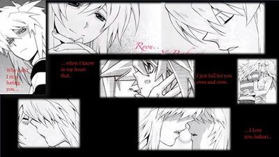 Ryou And Bakura (Tendershipping) by Spiderzwebz