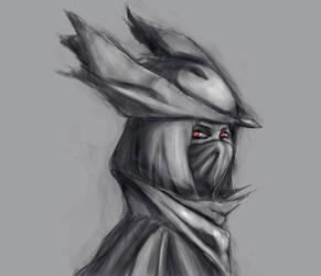 The hunter by KindredCrusader