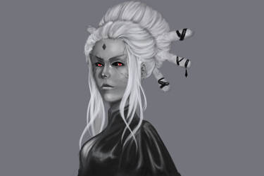 RWBY: Salem (Take two) by KindredCrusader