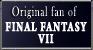 Original fan of FFVII STAMP by Niuniente