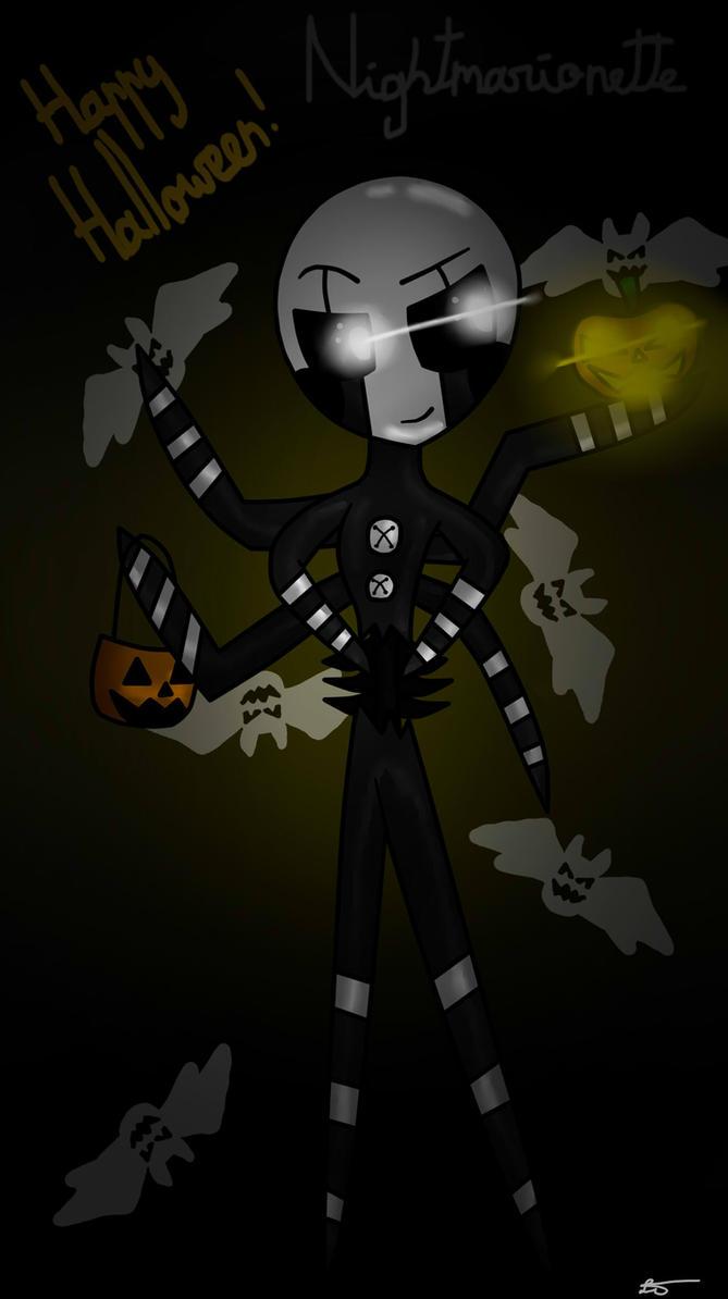 Nightmarionette (FNAF 4 Halloween DLC) by LilyTheFoxig on DeviantArt