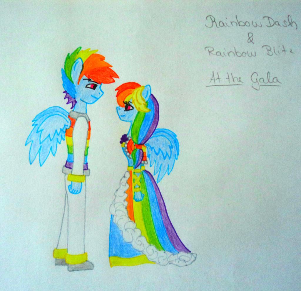 Rainbow Blitz x Rainbow Dash Human Dash x Rainbow Blitz at