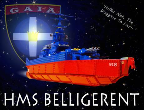 HMS BELLIGERENT by ParisisL