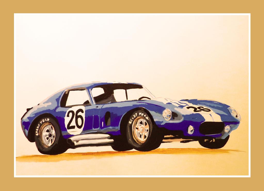 Shelby Daytona by HelleneAfrofan