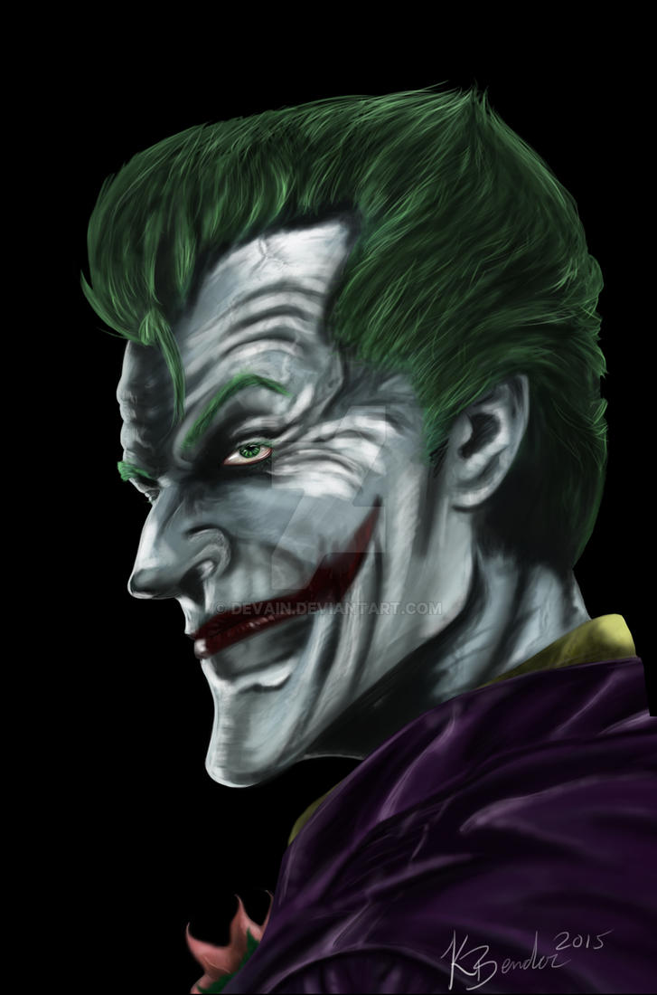 Airbrush Joker Wallpaper: Joker Finished By Devain On DeviantArt