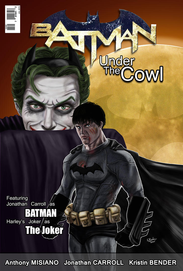 Batman Under the Cowl by Devain