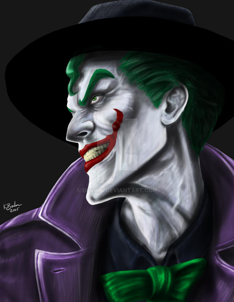 Injustice Joker by Devain