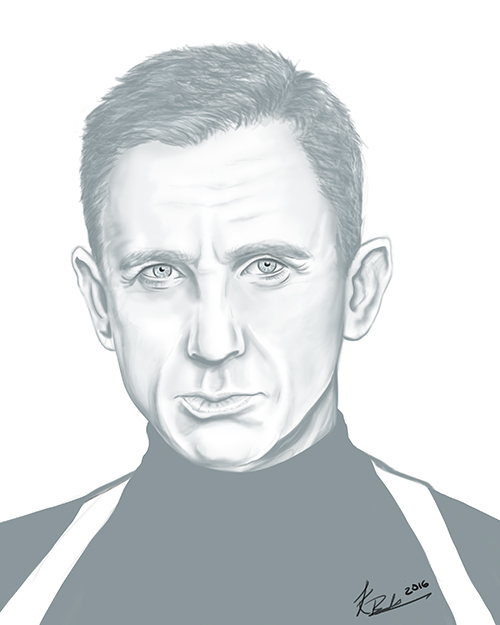 James Bond by Devain