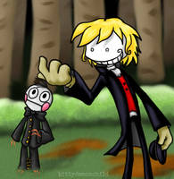 Newcomer: Mr. Smiley by kittydemonchild