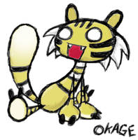 Okage Shadow King Baddie by kittydemonchild