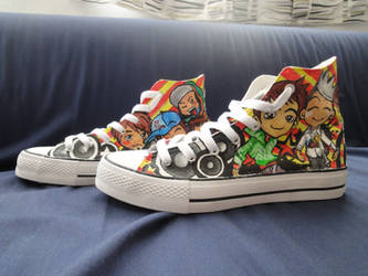 bigbang chibi shoes by yondaimejyll