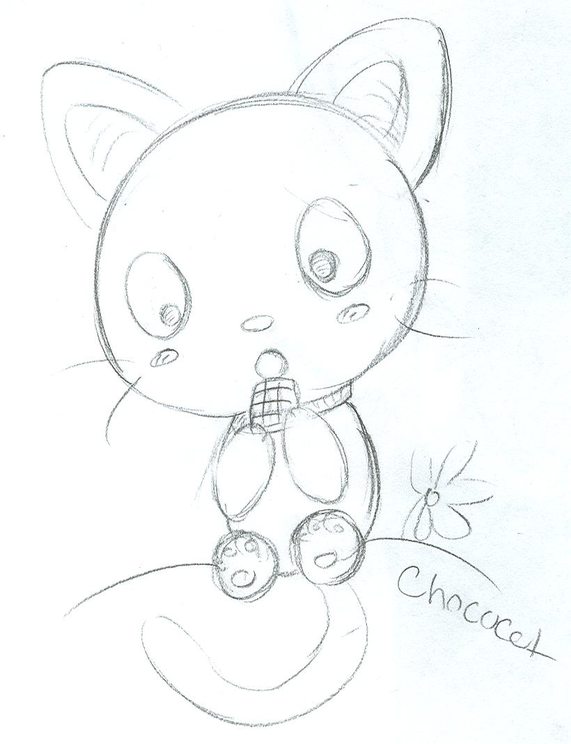 chococat coloring pages - photo#10