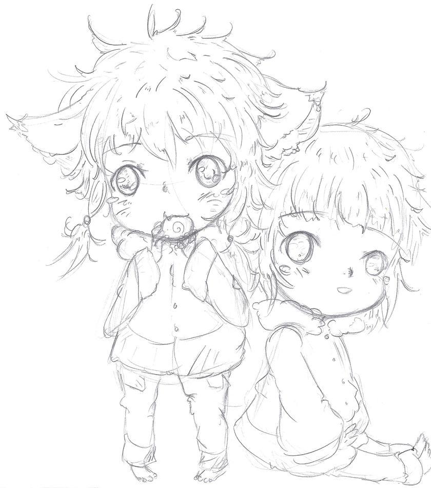 NaruHina-Children-Hinaru and Naruta by NelNel-Chan