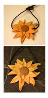 Sunflower Bead by NycterisA