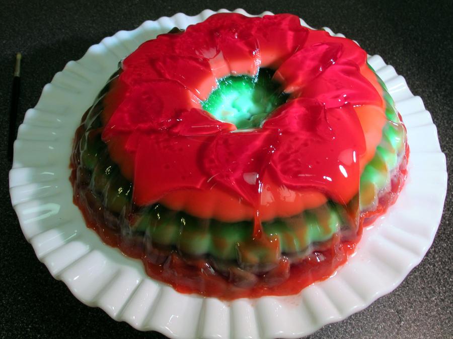 Festive Jello by NycterisA