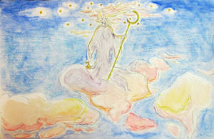 Cloudbound Aloft - Watercolor