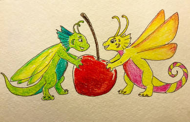 Cherry dragons