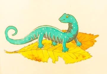 Autumn Salamander by NycterisA