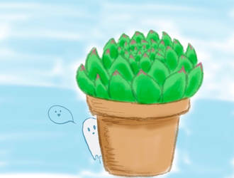 Haunted succulent