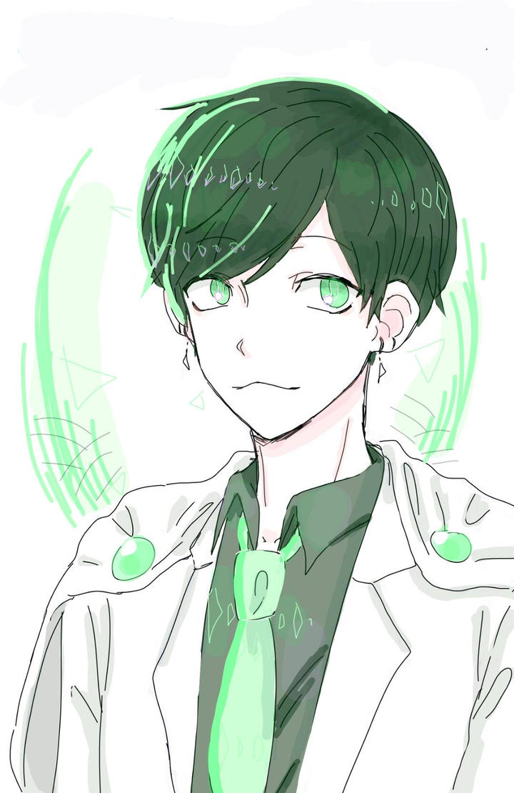 Anime Boy {Green} by Rexeren
