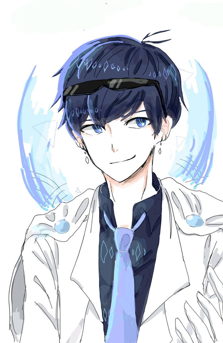 Anime Boy {Blue} by Rexeren