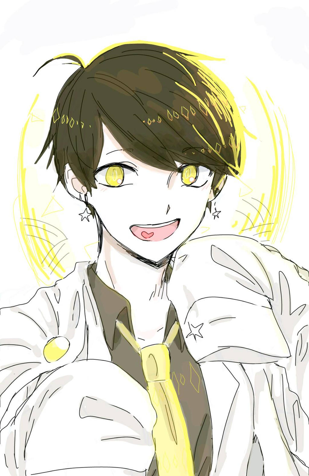 Anime Boy {Yellow} by Rexeren