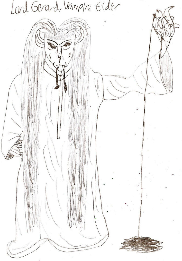 Lord Gerard from Threads of a Web by Garrison-Kelly