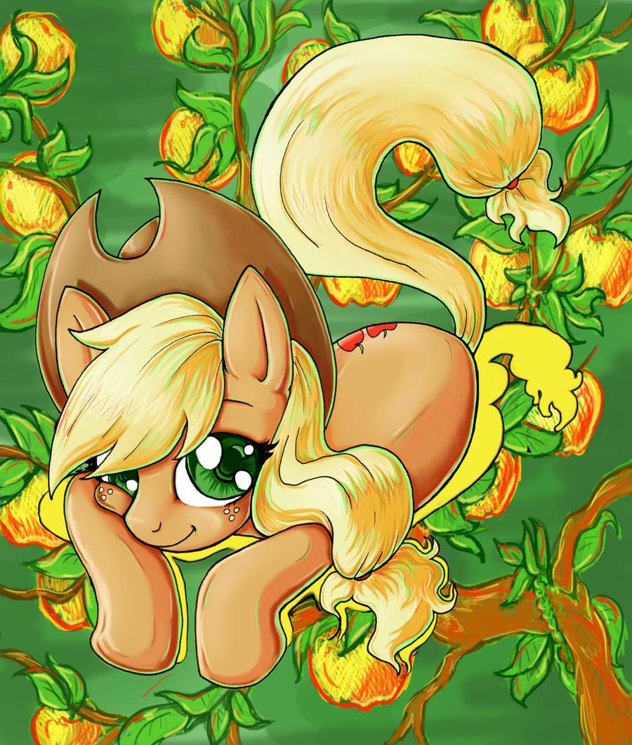 Sweet Applejack by kcday