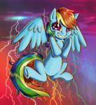 Confident Rainbow Dash