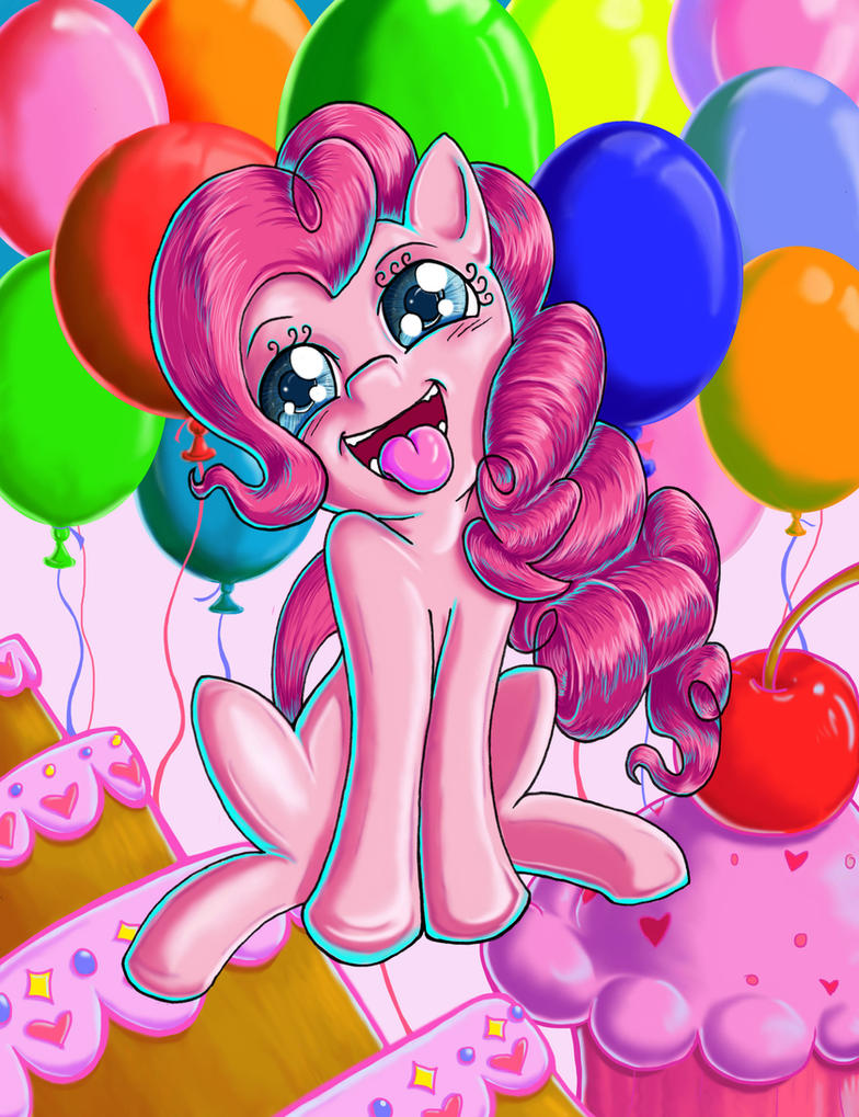 Random Pinkie Pie by kcday