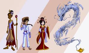 The Origional Aladdin Tale by kcday