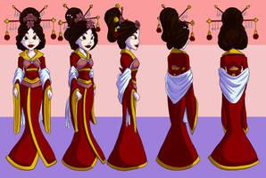 The Original Aladdin-Princess Turnaround by kcday