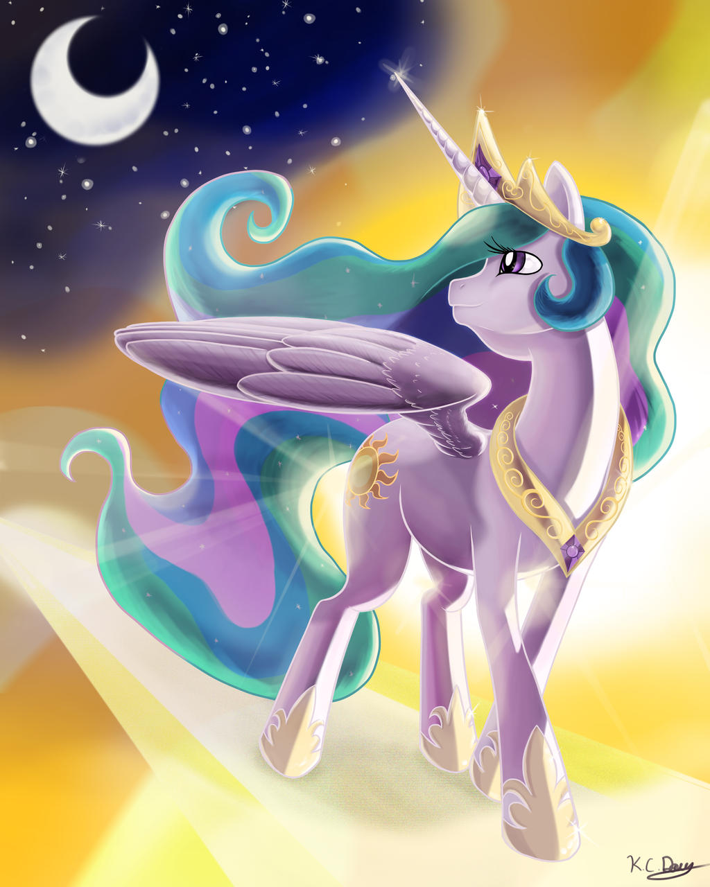 Seraphic Celestia by kcday