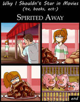 Why I Shouldn't Star in Movies : Spirited Away