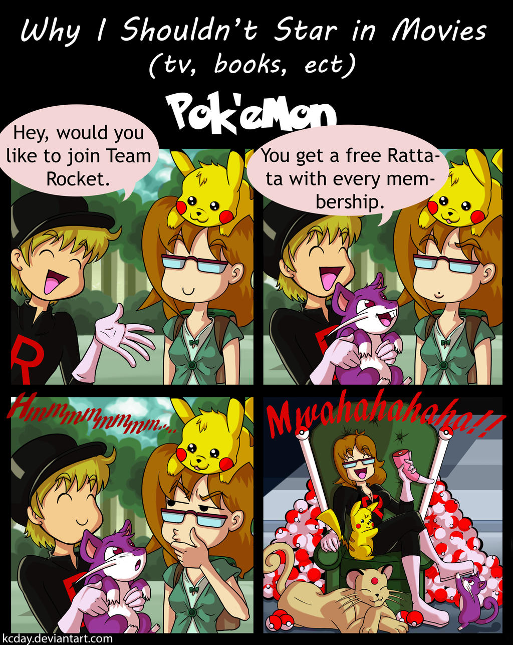 Why I Shouldn't Star in Movies: Pokemon