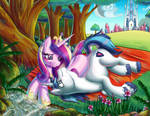 Amorous Cadence and Shining Armor