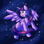 Princess Twilight in the Sky