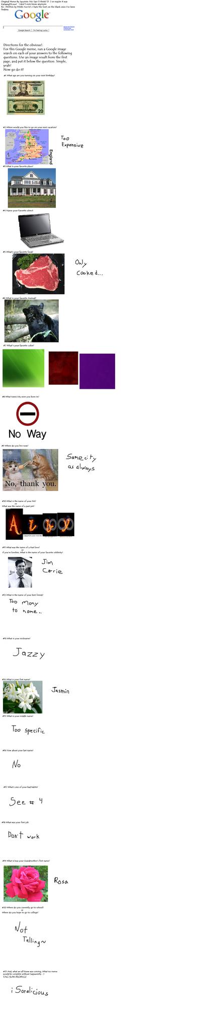 Google Meme~ X3 by AxelThePhoenix