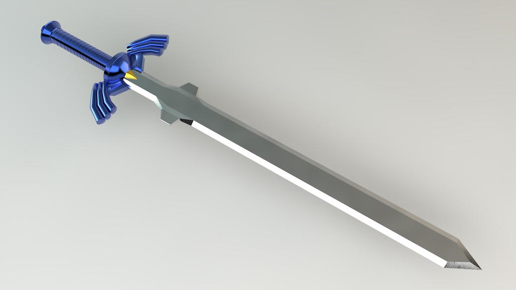 the master sword ocarina of time by baconb0y on deviantart